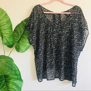 Torrid   sheer light blouse